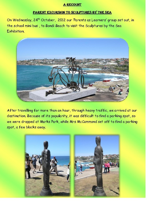 Scultures by the Sea - Bondi Beach