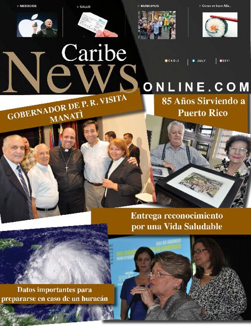 Caribe News Online Agosto 2011