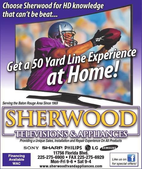 Sherwood TV & Appliance Current Ad