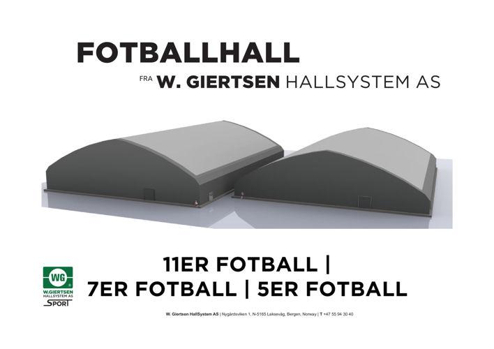 Fotballhaller - 11er, 7er og 5er.