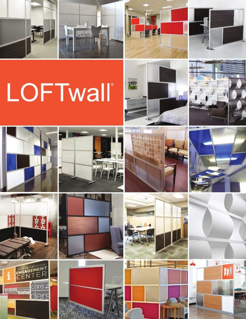 LOFTwall FlipBook, Modern Room Dividers & Privacy Screen