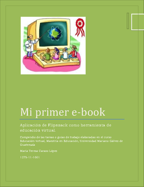 Libro Educacion Virtual UMG