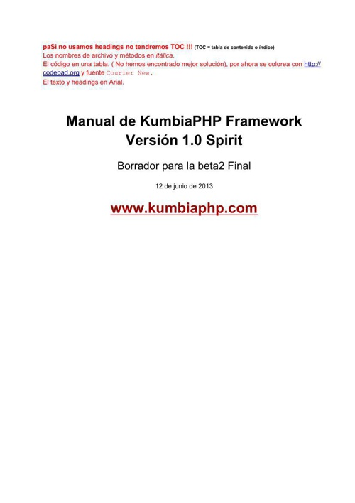 ManualKumbiaPHP1.0beta2