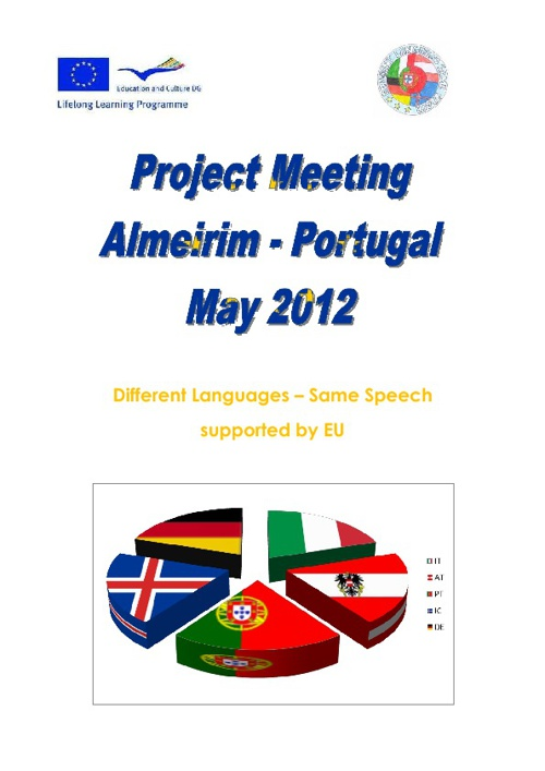 Comenius Meeting report Portugal 2012