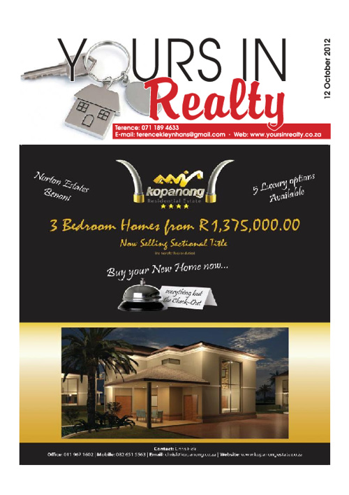 Yoursinrealty 12-10-2012