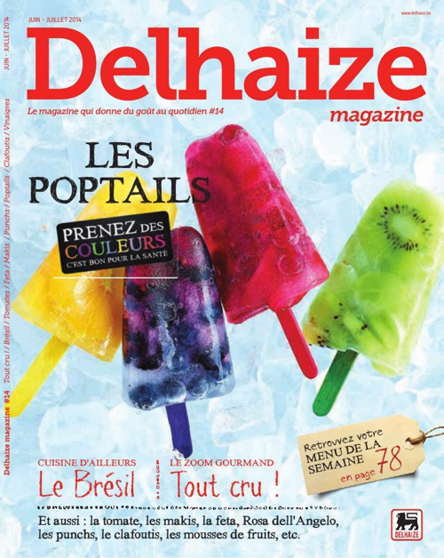 magazine delhaize juin-juillet 2014