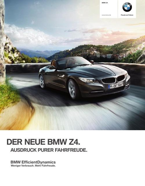 BMW Z4 Roadster. Ausdruck purer Fahrfreude