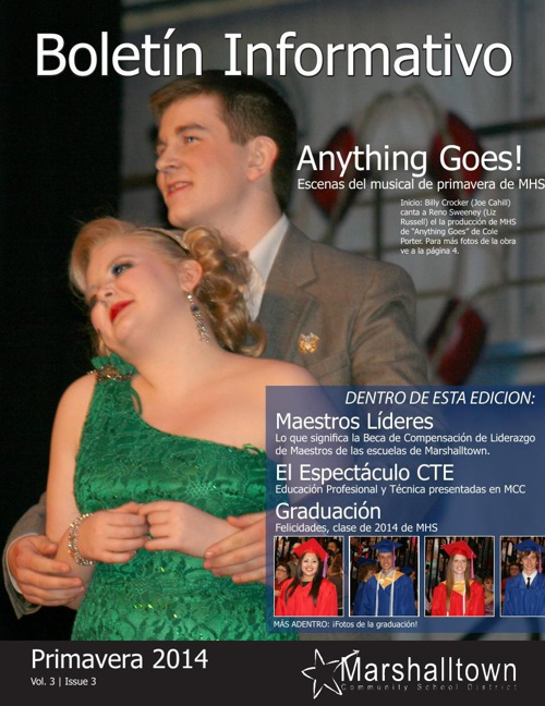 MCSD Newsletter | Spring 2014 (Spanish)