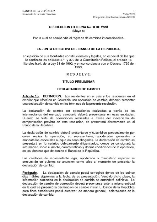 Resolucion 8 2000