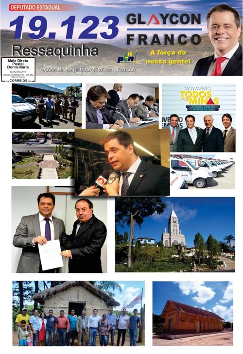 Jornal Ressaquinha - Glaycon Franco