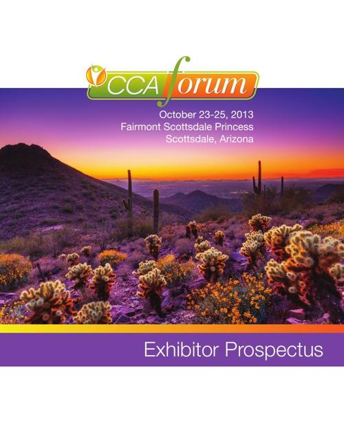 CCA Exhibitor Prospectus