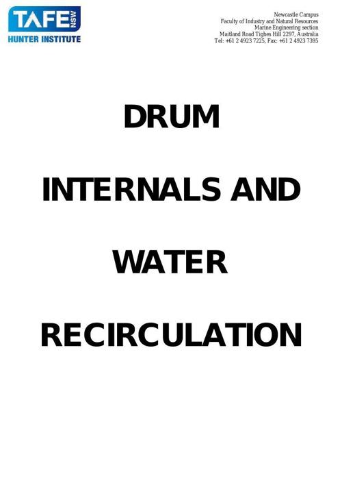MARL5010 Session 8 17 Drum Internals & Water CirculationV2
