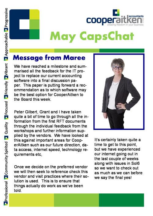 May Caps Chat
