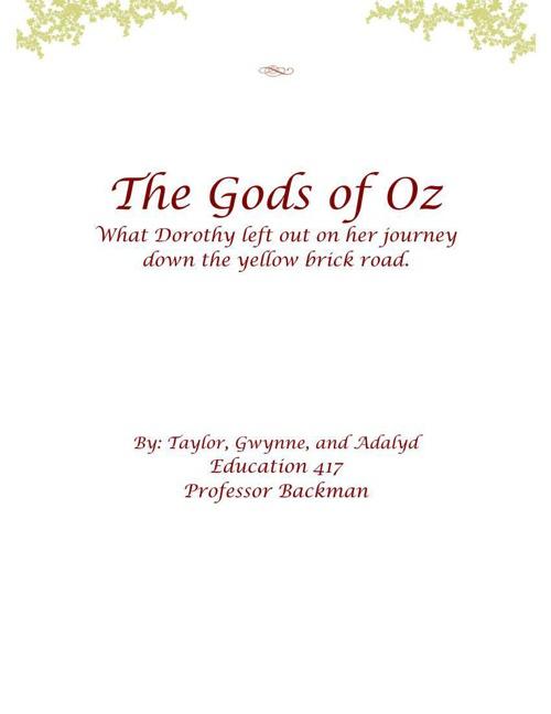 The Gods of Oz