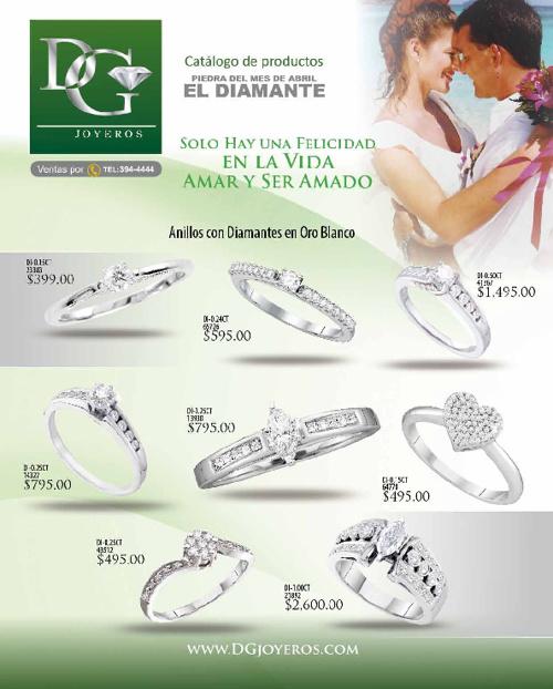 Catalogo DG Joyeros Abril 2012