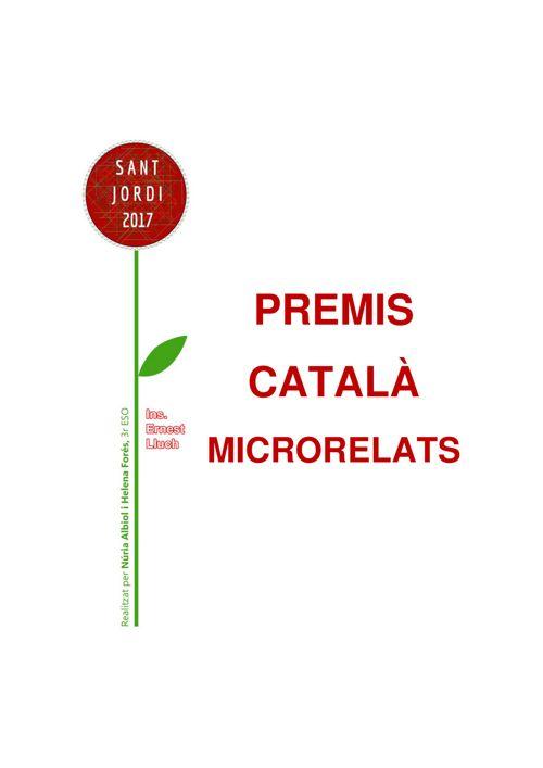 Premis Microrelats Català 2017