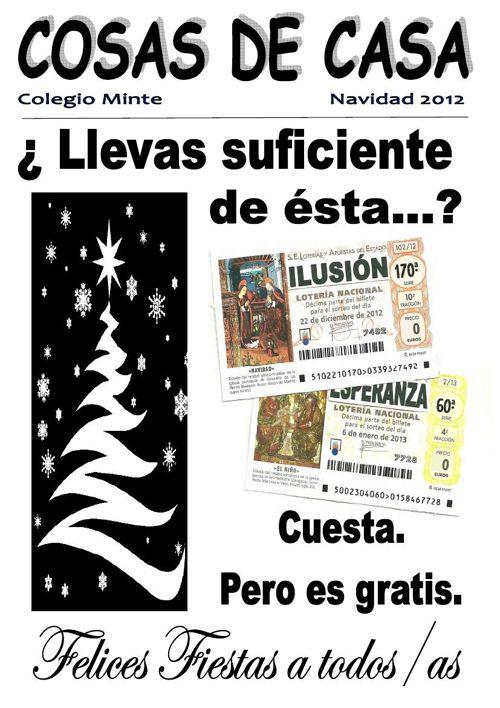 2012-2013 REVISTA DE NAVIDAD COLEGIO MINTE
