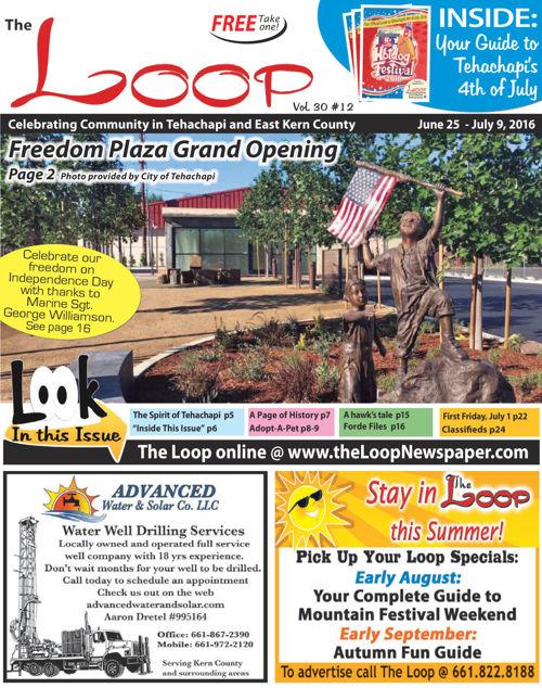 The Loop Newspaper - Vol 30 No 12 - June 25 - July 9, 2016