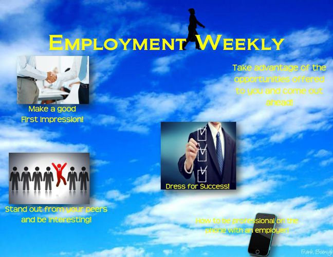 Employment Weekly Magazine Cover