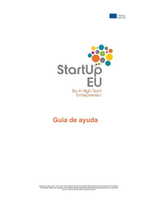 Guía de ayuda StartUp