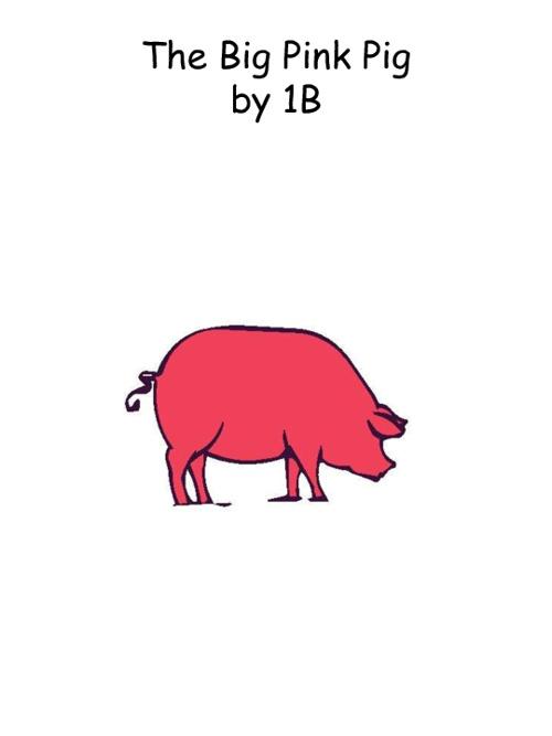 1B Big Pink Pig