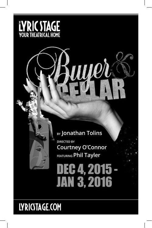 Buyer & Cellar Lyric Stage program