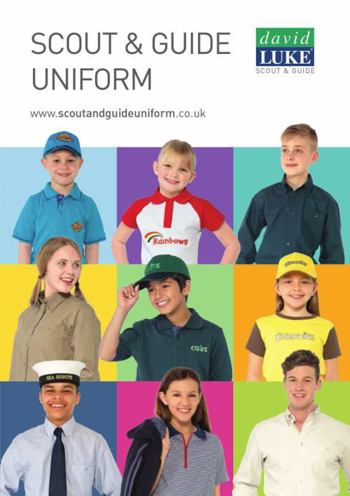 Scout & Guidewear Catalogue