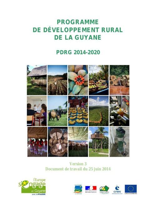 le Programme de développement rural de la Guyane 2014-2020 (vers