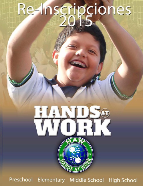 Re-Inscripciones 2015 Hands At Work
