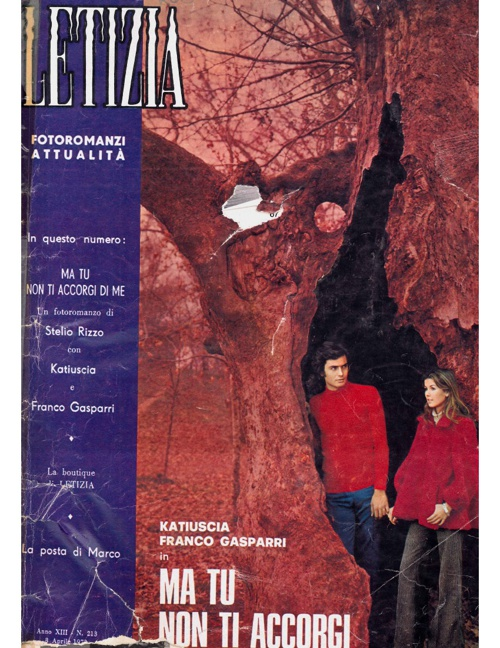 LETIZIA N. 213 (1973) - MA TU NON TI ACCORGI DI ME-1