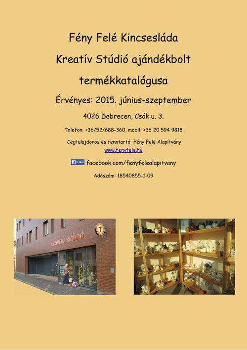 Kreatív Stúdió termékkatalógusa