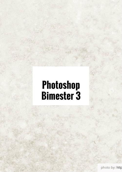 Photoshop Bimester 3