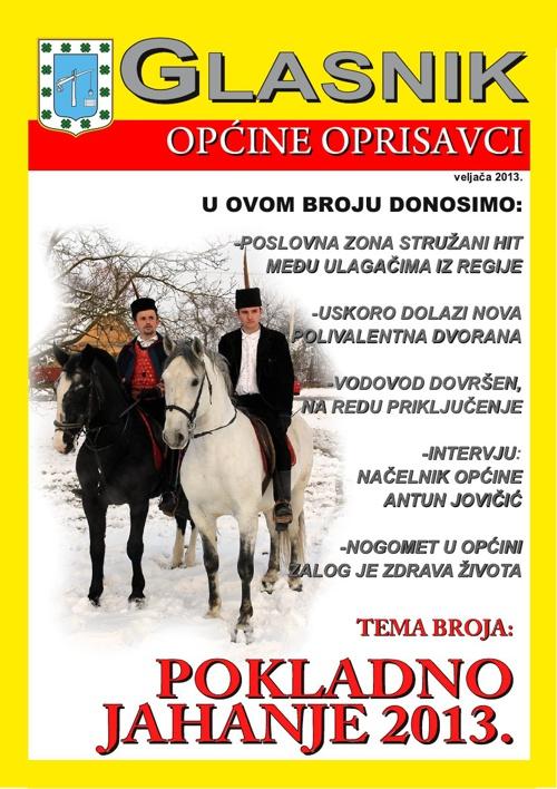 Glasnik općine Oprisavci - veljača 2013.