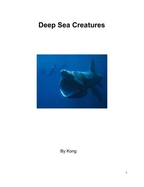 DeepSeaCreature
