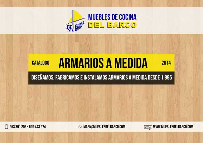 Catálogo Armarios 2014