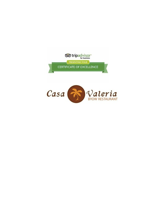 Casa Valeria Dinner