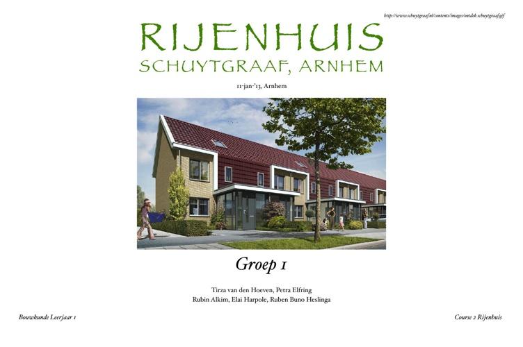 Rijenhuis Verslag