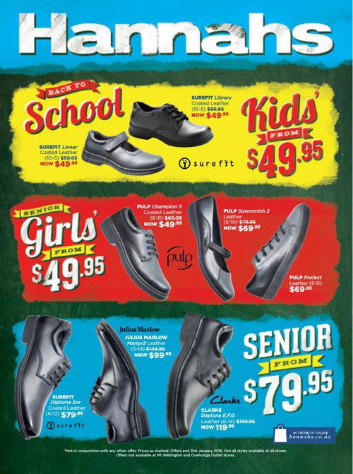Back to School Mailer