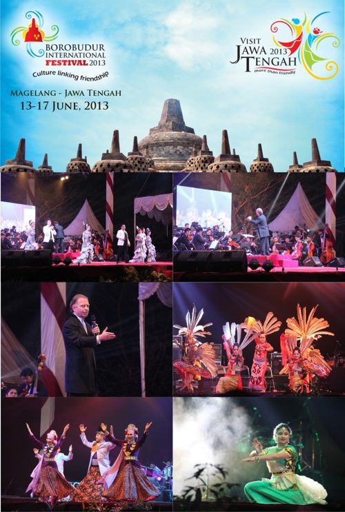 BOROBUDUR INTERNATIONAL FESTIVAL 2013