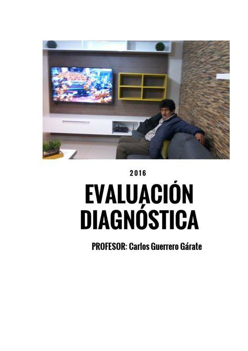 Evaluación Diagnóstica 2016