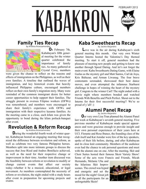 2013 February Kabakron