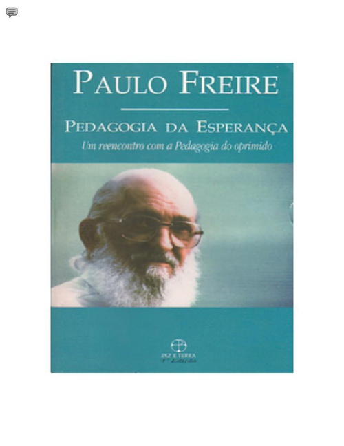 paulo freire paper Read paulo freire, a christian-marxist free essay and over 88,000 other research documents paulo freire, a christian-marxist eng 121 instructor: martin ley formal paper #4 by: valerie a perron date: 10-25-10 paulo freire, a christian-marxist.
