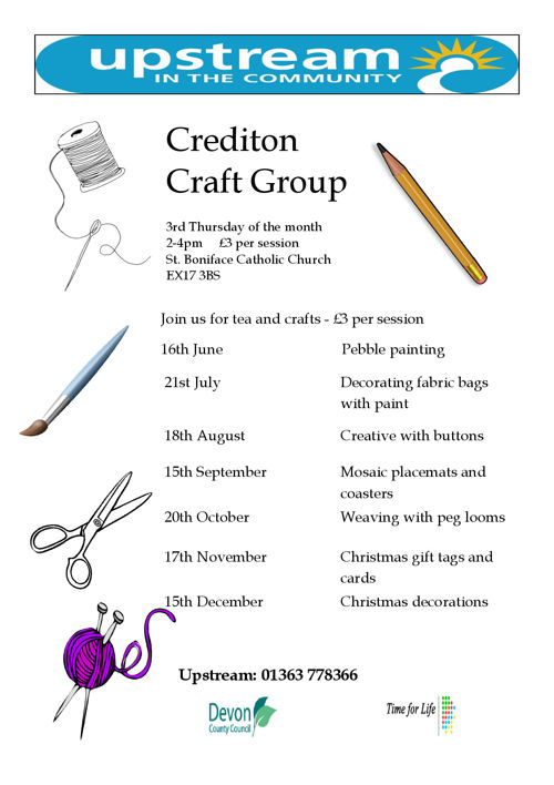 craft group flyer 2 2016 june - dec
