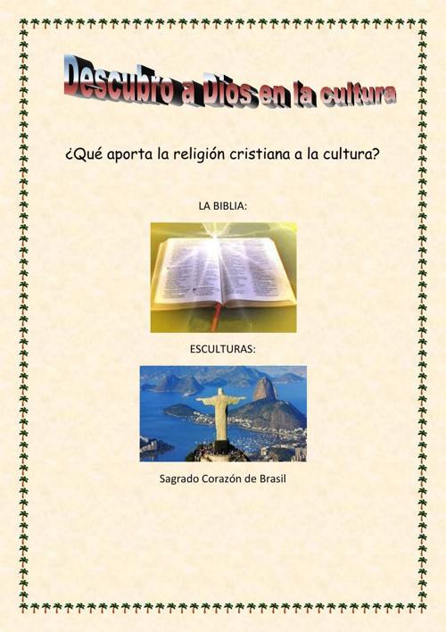 Qué aporta la religión cristiana a la cultura