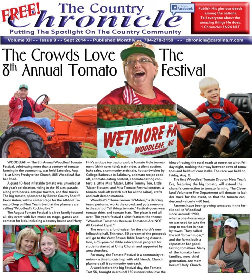 Sept 2014 Cleveland Chronicle