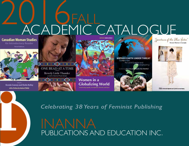 Inanna Fall 2016 Academic Catalogue