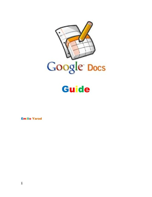 ict google docs real