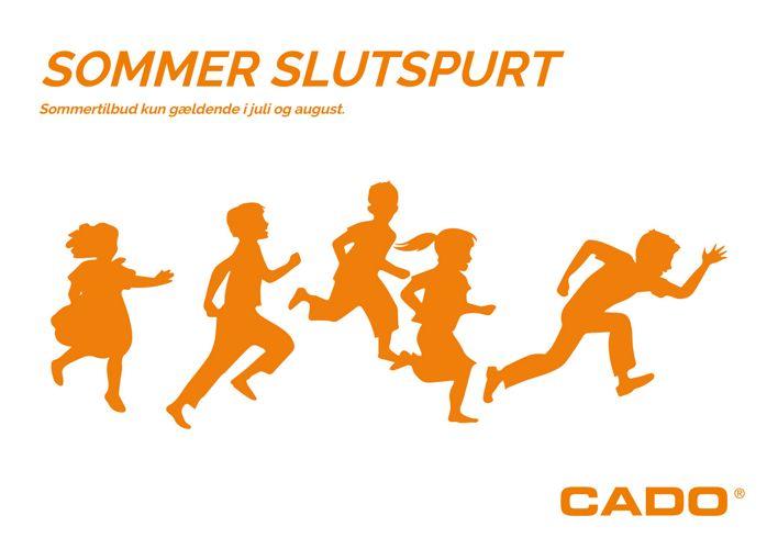 SOMMER SLUTSPURT - CADO AS - Jylland og Sjælland