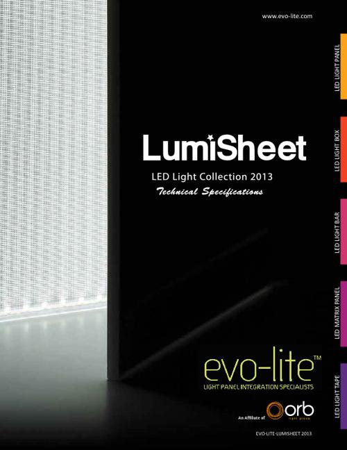 2013 Evo-lite Catalog