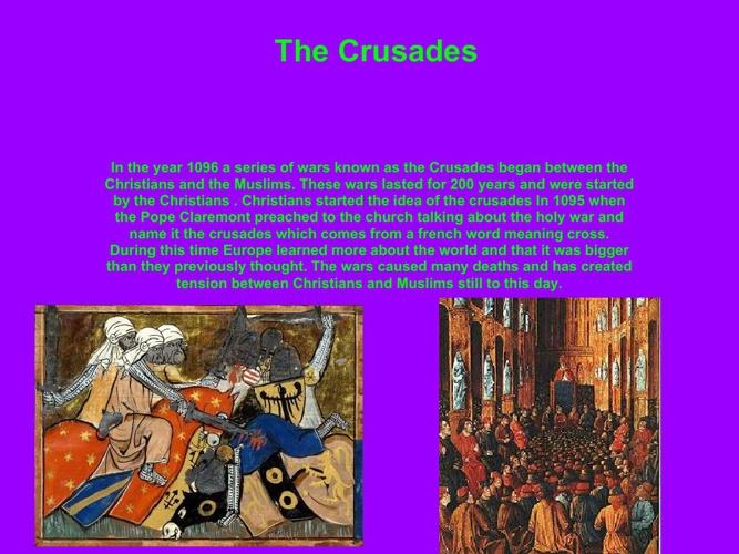 Patrick's Book of Crusades